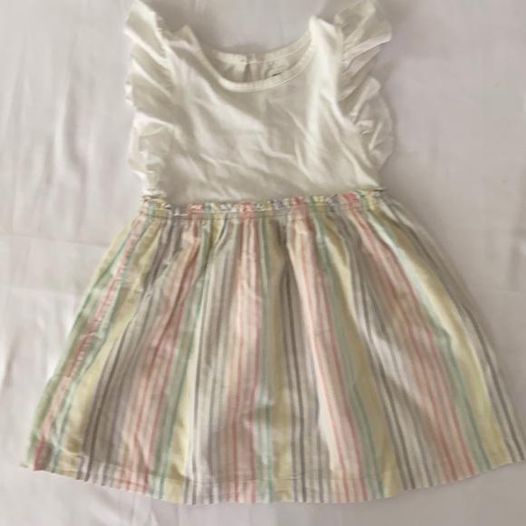 Gap flutter sleeve dress size 3